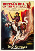 "Movie Posters:Western, With Buffalo Bill on the U.P. Trail (Aywon Film, 1926). One Sheet(27"" X 41.25"").. ..."