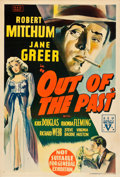 "Movie Posters:Film Noir, Out of the Past (RKO, 1947). Australian One Sheet (27"" X 39.75"")....."