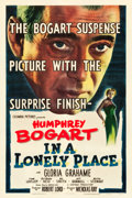 """Movie Posters:Film Noir, In a Lonely Place (Columbia, 1950). One Sheet (27"""" X 40.75"""").. ..."""
