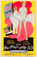 "Movie Posters:Comedy, The Seven Year Itch (20th Century Fox, 1955). Poster (40"" X 60"") Style Y.. ..."