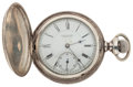 Timepieces:Pocket (post 1900), E. Howard Sterling Hunter's Case Pocket Watch. ...