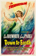 """Movie Posters:Musical, Down to Earth (Columbia, 1947). One Sheet (27"""" X 41.5"""") Style A.. ..."""