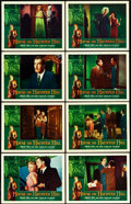 "Movie Posters:Horror, House on Haunted Hill (Allied Artists, 1959). Lobby Card Set of 8(11"" X 14"").. ... (Total: 8 Items)"