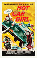 "Movie Posters:Exploitation, Hot Car Girl (Allied Artists, 1958). One Sheet (27"" X 41.5"").. ..."