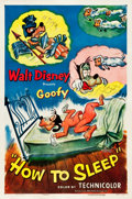 "Movie Posters:Animated, How to Sleep (RKO, 1953). One Sheet (27"" X 41"").. ..."