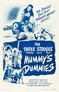 """Movie Posters:Comedy, The Three Stooges in Mummy's Dummies (Columbia, 1948). One Sheet(27"""" X 41.5"""").. ..."""