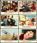 "Movie Posters:Hitchcock, North by Northwest (MGM, 1959). Lobby Cards (6) (11"" X 14"").. ...(Total: 6 Items)"