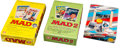 Memorabilia:Trading Cards, MAD/WWII Unopened Wax Box Trading Cards Group (Lime Rock/Pacific,1992).... (Total: 3 Items)
