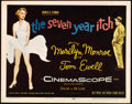"""Movie Posters:Comedy, The Seven Year Itch (20th Century Fox, 1955). Title Lobby Card (11""""X 14"""").. ..."""