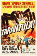 "Movie Posters:Science Fiction, Tarantula (Universal International, 1955). One Sheet (27.25"" X41"").. ..."