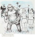 Original Comic Art:Comic Strip Art, Bill Wenzel Gag Panel Comic Original Art (undated).. ...