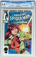 Modern Age (1980-Present):Superhero, The Amazing Spider-Man Annual #19 (Marvel, 1985) CGC NM/MT 9.8White pages....