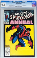 Modern Age (1980-Present):Superhero, The Amazing Spider-Man Annual #17 (Marvel, 1983) CGC NM/MT 9.8Off-white to white pages....