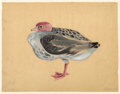 Works on Paper, MORRIS GRAVES (American, 1910-2001). Bird, No. 845, 1939. Gouache on paper. 12-1/2 x 16-1/8 inches (31.8 x 41.0 cm). Sig...