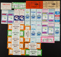 Football Collectibles:Tickets, 1970's World Football League Ticket Stubs and More Lot of 35+....