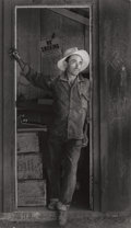 Photographs:Gelatin Silver, MAX YAVNO (American, 1911-1985). Mexican Foreman, 1981. Gelatin silver. 13-1/2 x 7-3/4 inches (34.3 x 19.7 cm). Signed i...