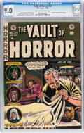 Golden Age (1938-1955):Horror, Vault of Horror #24 (EC, 1952) CGC VF/NM 9.0 Off-white to whitepages....