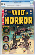 Golden Age (1938-1955):Horror, Vault of Horror #26 (EC, 1952) CGC VF+ 8.5 White pages....