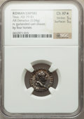 Ancients:Roman Imperial, Ancients: Titus (AD 79-81). AR denarius (17mm, 3.04 gm, 5h). ...