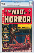 Golden Age (1938-1955):Horror, Vault of Horror #31 (EC, 1953) CGC VF/NM 9.0 Off-white to whitepages....