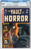 Golden Age (1938-1955):Horror, Vault of Horror #32 (EC, 1953) CGC VF/NM 9.0 Off-white to whitepages....