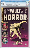 Golden Age (1938-1955):Horror, Vault of Horror #40 (EC, 1954) CGC VF/NM 9.0 White pages....