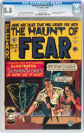 Golden Age (1938-1955):Horror, Haunt of Fear #16 (#2) (EC, 1950) CGC FN- 5.5 Off-white pages....