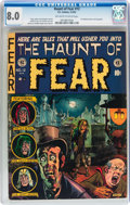 Golden Age (1938-1955):Horror, Haunt of Fear #12 (EC, 1952) CGC VF 8.0 Off-white to whitepages....