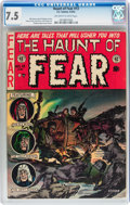 Golden Age (1938-1955):Horror, Haunt of Fear #13 (EC, 1952) CGC VF- 7.5 Off-white to whitepages....