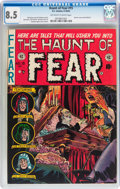 Golden Age (1938-1955):Horror, Haunt of Fear #15 (EC, 1952) CGC VF+ 8.5 Off-white to whitepages....