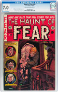 Golden Age (1938-1955):Horror, Haunt of Fear #20 (EC, 1953) CGC FN/VF 7.0 Off-white to whitepages....