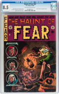 Golden Age (1938-1955):Horror, Haunt of Fear #24 (EC, 1954) CGC VF+ 8.5 Off-white to whitepages....