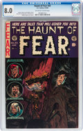 Golden Age (1938-1955):Horror, Haunt of Fear #25 (EC, 1954) CGC VF 8.0 Off-white to whitepages....