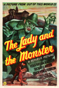 "Movie Posters:Horror, The Lady and the Monster (Republic, 1944). One Sheet (27.25"" X41"").. ..."