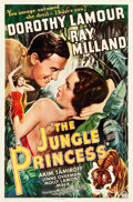 "Movie Posters:Adventure, The Jungle Princess (Paramount, R-1946). One Sheet (27"" X 41"")....."