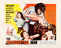 "The Neanderthal Man (United Artists, 1953). Half Sheet (22"" X 28"")"