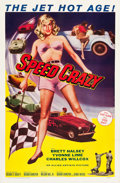 "Movie Posters:Exploitation, Speed Crazy (Allied Artists, 1959). One Sheet (27"" X 41"").. ..."