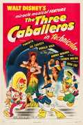 "Movie Posters:Animation, The Three Caballeros (RKO, 1945). One Sheet (27.25"" X 41"") StyleA.. ..."