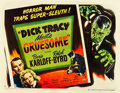"Movie Posters:Crime, Dick Tracy Meets Gruesome (RKO, 1947). Half Sheet (22"" X 28"") StyleA.. ..."