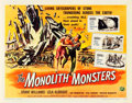 "Movie Posters:Science Fiction, The Monolith Monsters (Universal International, 1957). Half Sheet(22"" X 28"").. ..."