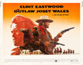 "Movie Posters:Western, The Outlaw Josey Wales (Warner Brothers, 1976). Half Sheet (22"" X28"").. ..."