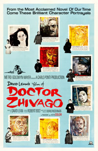 """Doctor Zhivago (MGM, 1965). One Sheet (27"""" X 41"""") Style C"""