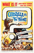 "Movie Posters:Science Fiction, Godzilla vs. the Thing (American International, 1964). One Sheet(27"" X 41"").. ..."