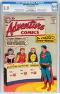 Silver Age (1956-1969):Superhero, Adventure Comics #247 (DC, 1958) CGC GD/VG 3.0 Off-white to white pages....