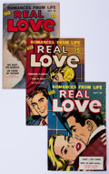 Golden Age (1938-1955):Romance, Real Love Group (Ace Periodicals, 1950-56) Condition: AverageVF-.... (Total: 13 Comic Books)