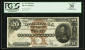 Large Size:Silver Certificates, Fr. 311 $20 1880 Silver Certificate PCGS Apparent Very Fine 30.....