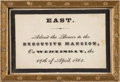 Miscellaneous:Ephemera, Abraham Lincoln: White House Funeral Admittance Card....