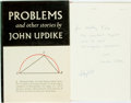 Books:Literature 1900-up, John Updike. INSCRIBED. Problems and Other Stories. NewYork: Knopf, 1979. First edition. Warmly inscribed by the ...