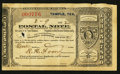 Miscellaneous:Other, Temple, TX- Postal Note Type IV $1 Feb. 9, 1892. ...
