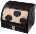 Timepieces:Other , Eilux Triple Leather Watch Case Winder. ...